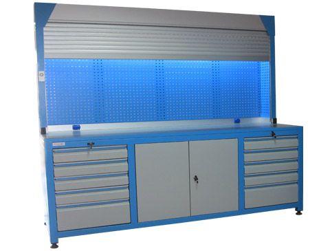 8801 otomatik panjurlu çalışma tezgahı
