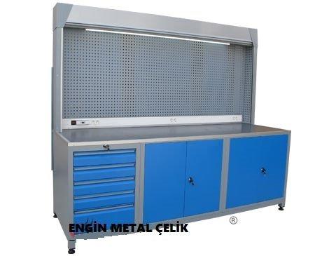 8802 - panjurlu çalışma tezgahı fiyat