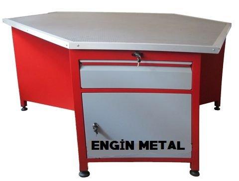 8995 altıgen çalışma masası