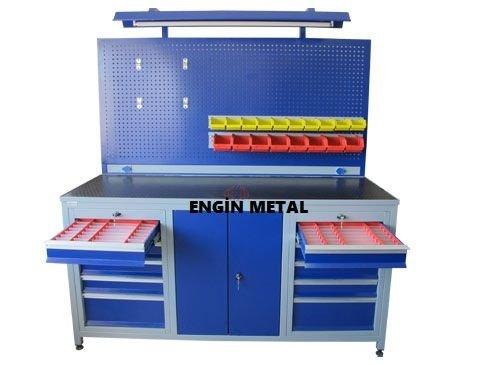 8017 çekmeceli atölye masası