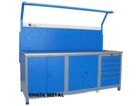 8715 metal çalışma masası